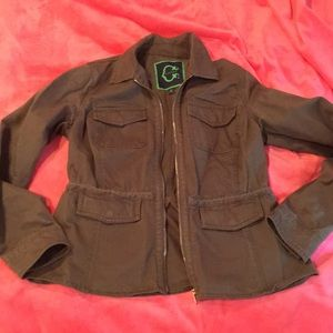 C wonder army jacket